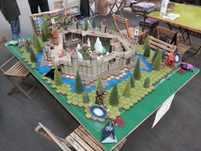 """HEROSCAPE THE BATTLE OF ALL TIME"""